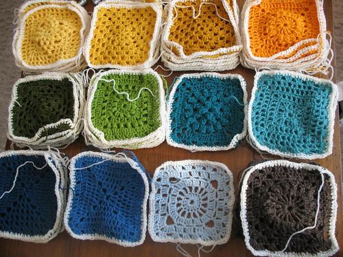 lage strikkemasker med hekling
