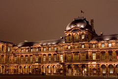 Musee du Louvre (tomosang R32m) Tags: paris france museum night louvre musee