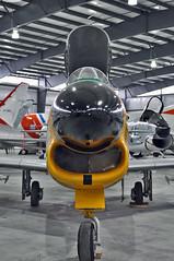 F-86D Sabre s/n 52-3653 (skyhawkpc) Tags: nikon colorado pueblo sabre co usaf allrightsreserved northamerican d90 f86d coloradoairnationalguard sabredog pwam garyverver puebleweisbrodaircraftmuseum 523653