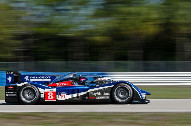 Sebring 2011 - ALMS / ILMC Practice & Qualify - Team Peugeot Total Peugeot 908