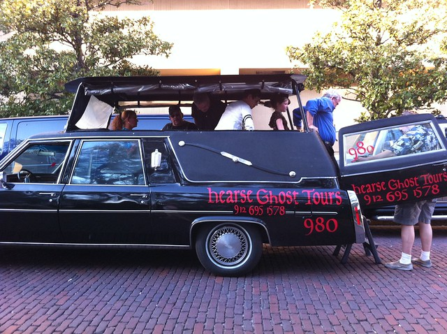 Ghost Hearse tour, Savannah, Georgia