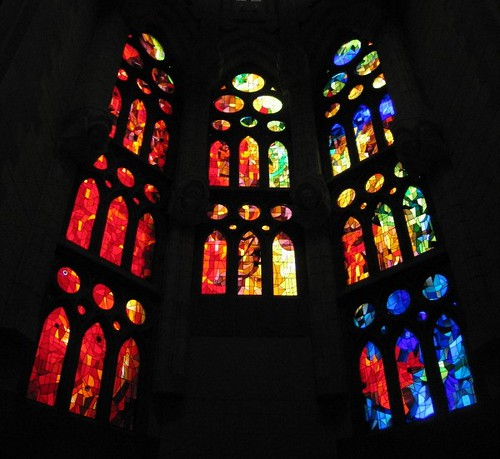 La Sagrada Familia Stanied Glass