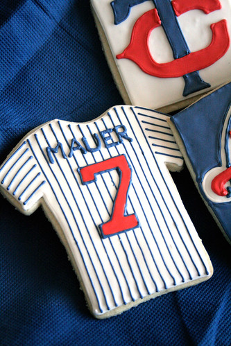 Minnesota Twins cookies.