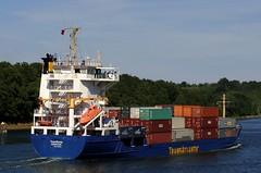 TRANSNJORD - IMO 9113719 (arnekiel) Tags: canal feeder containership kiel transatlantic nok containerschiff sietas transnjord schwartenbek 9113719
