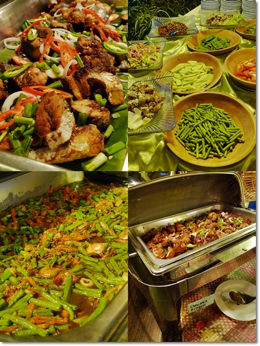 Dishes @ Buffet Spread