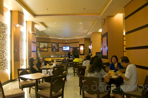 Baguio - Eurotel Dining Area