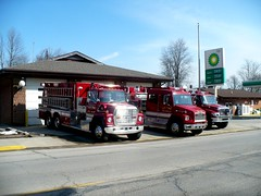 Elk's 3 main Rigs (railnut19) Tags: rescue mi first rig elk peck tender tanker pumper responder twonship