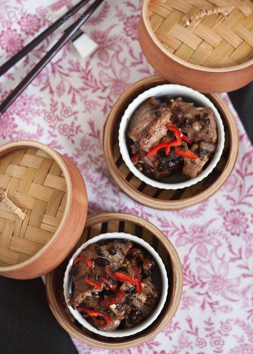 Spare Ribs in Preserved Black Bean Sauce 豉汁排骨 2