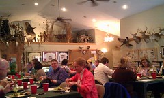 Lunch at the Claythorne Lodge, KS
