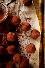 blueberry chocolate truffles [Explored] (Gourmande in the Kitchen) Tags: chocolate blueberry cocoa chocolatetruffles truffles cocoapowder foodphotography babyshowerfavor gourmandephotography gourmandeinthekitchen sylvieshiraziphotography chocolateblueberrytruffles