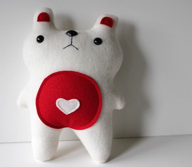 cute little handmade bear on etsy all proceeds go to Japan, il_fullxfull.228232360