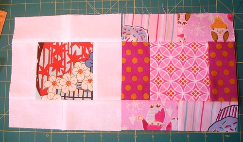 Altered Four Square Quilt Block Tutorial: Finished Blocks