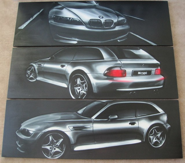 BMW Z3 M Coupe Paintings