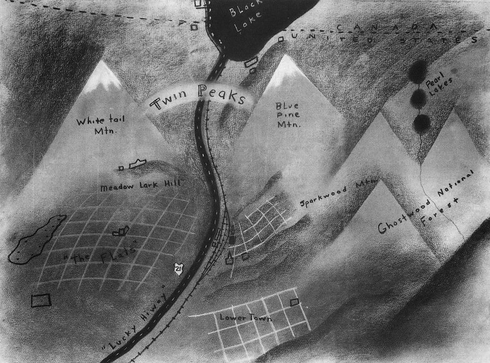 Darkness and Cherry Pie: David Lynch's Map of Twin Peaks | Big Think