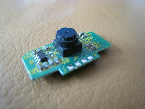 Strange Wiimote Camera on a daughter board 3