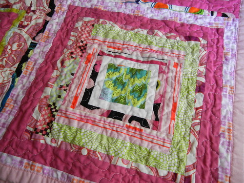 Drunk love - another quilting close-up