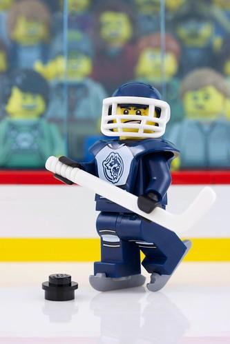 Custom minifig Hockey Night in Canada