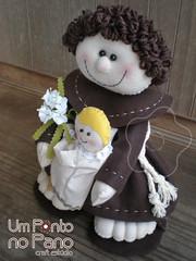 Santo Antnio (Simone Patricia Arte em Tecido) Tags: casamento feltro antonio santo antnio atnio