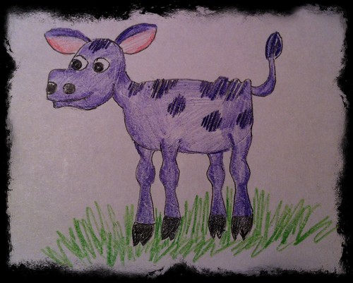 Purple Calf