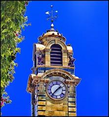 Antofagasta - Reloj Británico Plaza Colón (Victorddt) Tags: photoshop reloj sonycybershot plazacolón antofagasta