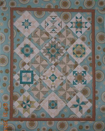 Hazel Ilene Diary quilt top