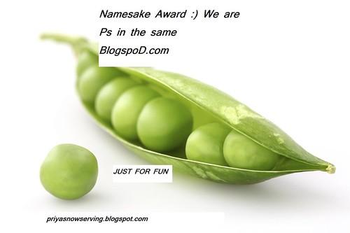 Namesake Award 2