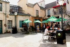 Cafe a la Paris (Prayitno / Thank you for (12 millions +) view) Tags: california ca paris france french la los cafe angeles hollywood universal studios ush perancis konomark