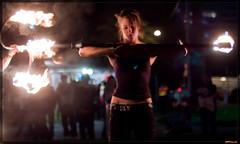 serene self (Spinferno {Fire & Photography}) Tags: fire dancing flame firedancing firedancer firetwirling firetwirler firedancerr