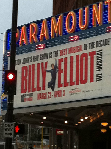 Billy Elliot the Musical. Seattle by Rosemary In Time