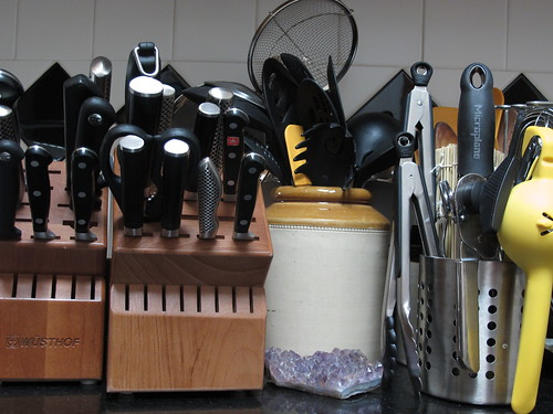 Knife Blocks and Utensils