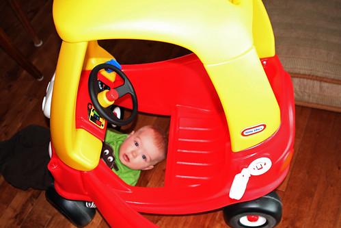 A Boy & His Car