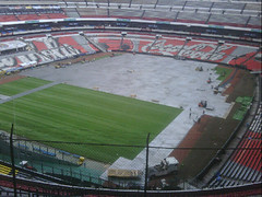 Segundo día de montaje - Estadio Azteca 14