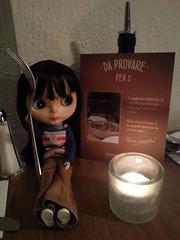 148/365 Spaghetti house (sozzielou) Tags: trip house london dinner table march italian candle fork spaghetti edna 2014 365blythe