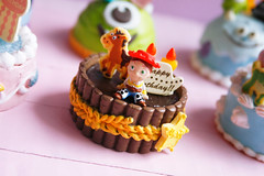 Pixar birthday cakes! (Marine - La Compagnie des Radis) Tags: birthday food jessie cake buzz miniature nemo bob woody pixar ment re sully rement anniversaire compagnie gateau sulley monstres