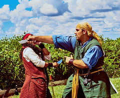 DSC02596 (Welshmenphotos) Tags: pirates sony a6000 konica 40mm sigma quantaray 28mm festival florida punta gorda photography photographer photos swords knives fencing guitar music live concert fineart fine art