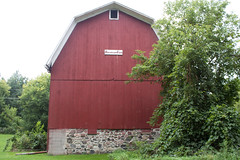 Red Barn, September 8, 2016 (marylea) Tags: red barn rural 2016 sep8 farm sugarloaffarm