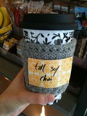 Iron Craft #4:  Get Cozy (Coffee Cup Cozy w/ Dry Erase Board)