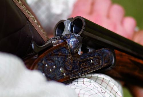 open shotgun