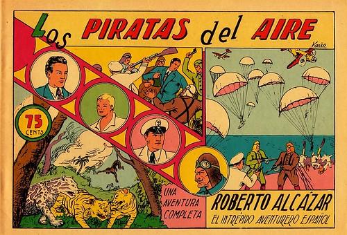 003-Roberto Alcázar nº 3-Los piratas del aire-portada