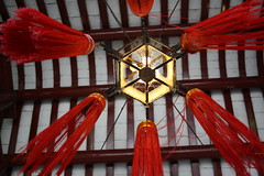 Detailed Light (Alex Winner Photography) Tags: red macro building lamp architecture traditional chinese tassles upshot