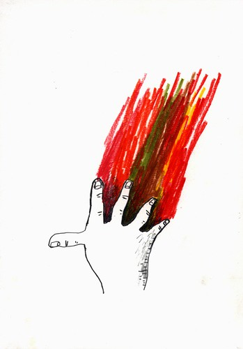 Coloristic fingers