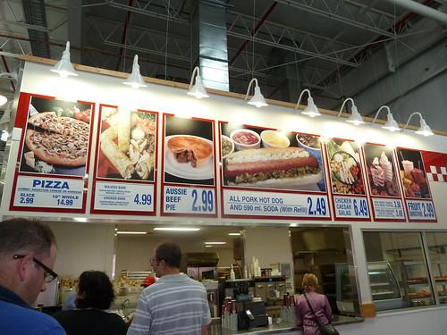 Costco Food Court Flemington