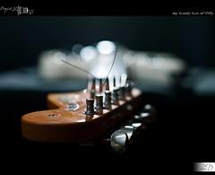 22 50 - The Rhythm of Bokeh (HD Photographie) Tags: project us pentax guitar fender hd jaguar 50 guitare projet herv k7 2011 strobist dapremont hervdapremont project50 50