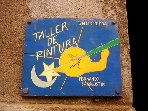 Caracol artístico en Huesca