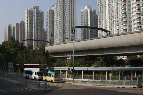Ma On Shan line viaduct