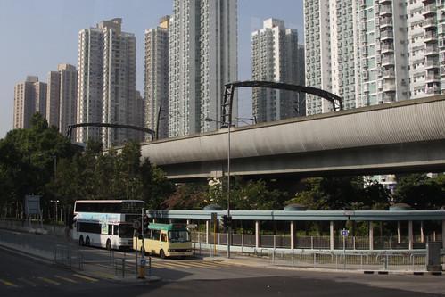 Ma On Shan line viaduct
