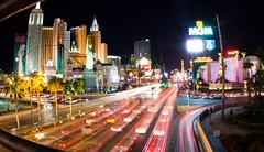 Vegasy (Mazda6 (Tor)) Tags: new york city las vegas urban night hotel boulevard traffic lasvegas nevada grand casino busy sin streams streaks mgm blvd newyorkhotelandcasino