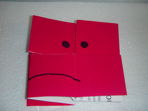 Origami #29: Sad to Happy Face
