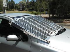 portable windscreen charging solarpanels