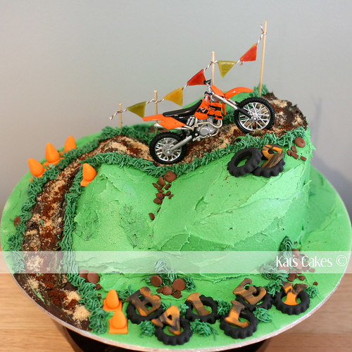 dirt bike cake - photo #24